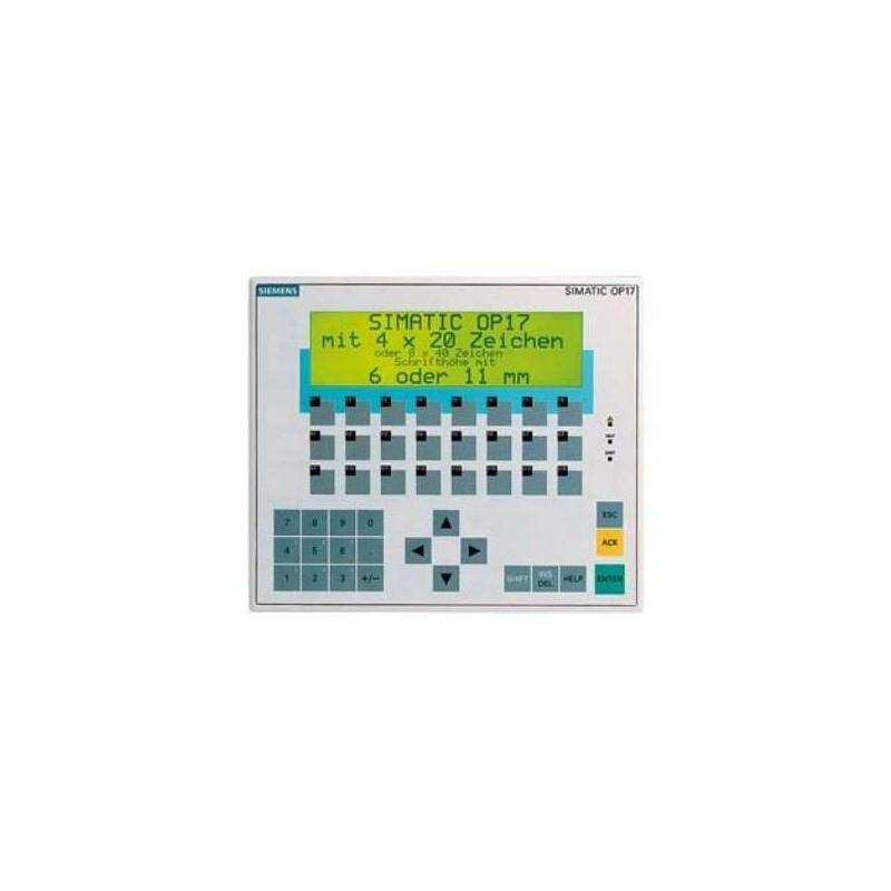 6AV3617-1JC00-0AX1 SIEMENS Operator Panel OP 17