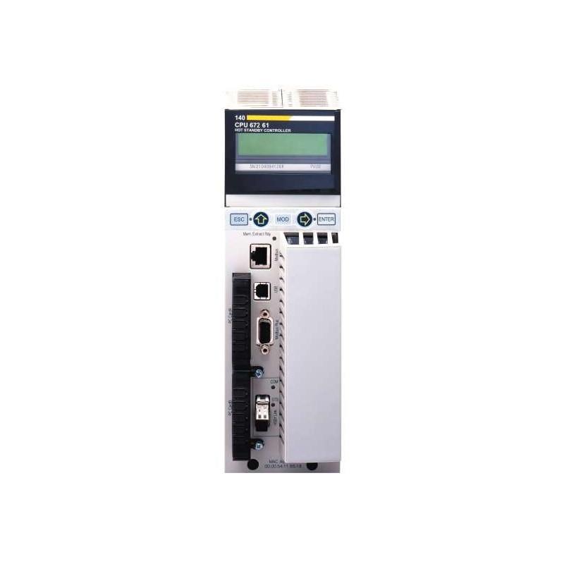 140CPU67261 SCHNEIDER ELECTRIC - Processor 140-CPU-672-61